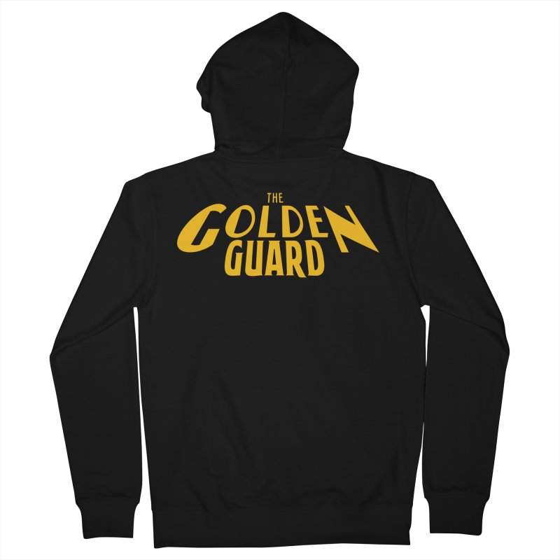 The Golden Guard - Logo Women's French Terry Zip-Up Hoody by incogvito's Artist Shop