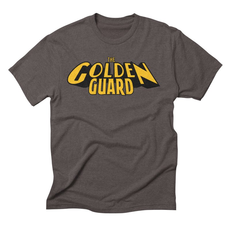 The Golden Guard - Logo Men's Triblend T-Shirt by incogvito's Artist Shop