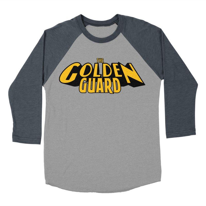The Golden Guard - Logo Men's Baseball Triblend Longsleeve T-Shirt by incogvito's Artist Shop