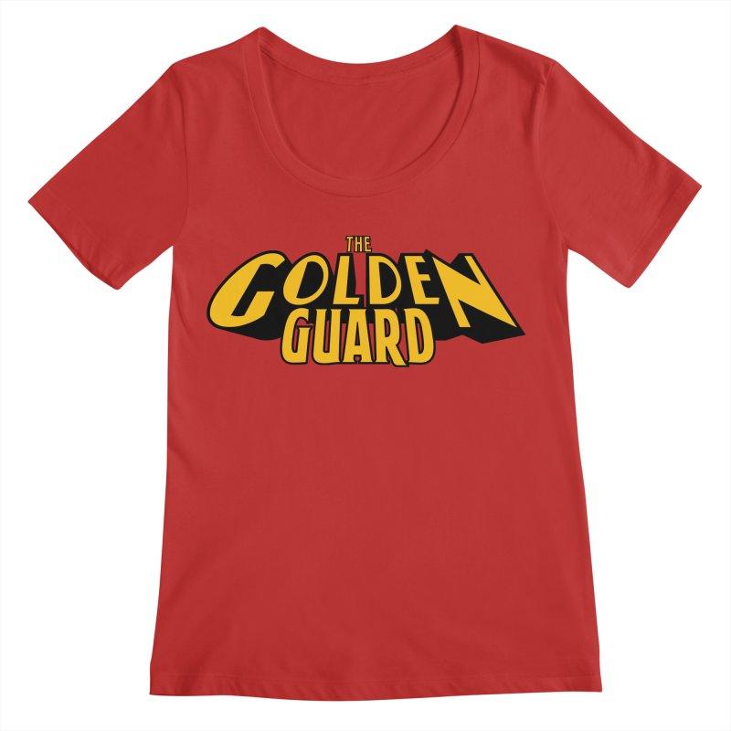 The Golden Guard - Logo Women's Regular Scoop Neck by incogvito's Artist Shop