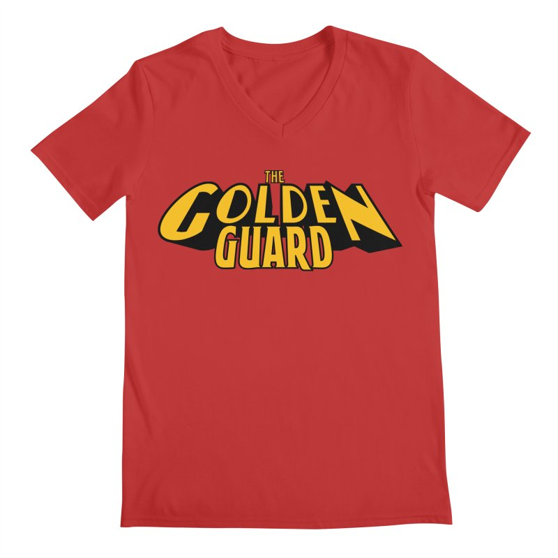 The Golden Guard - Logo Men's Regular V-Neck by incogvito's Artist Shop