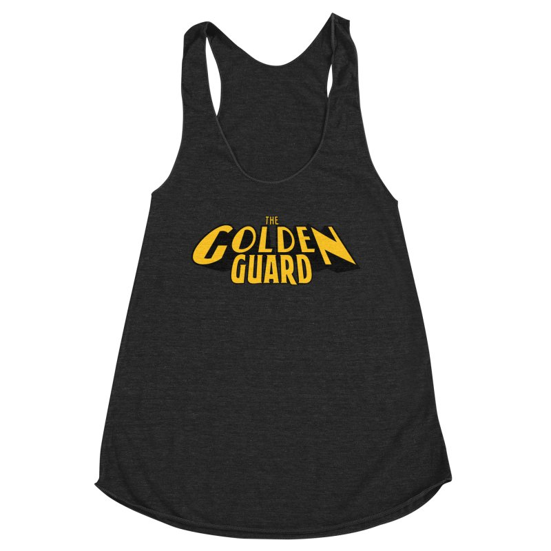 The Golden Guard - Logo Women's Racerback Triblend Tank by incogvito's Artist Shop
