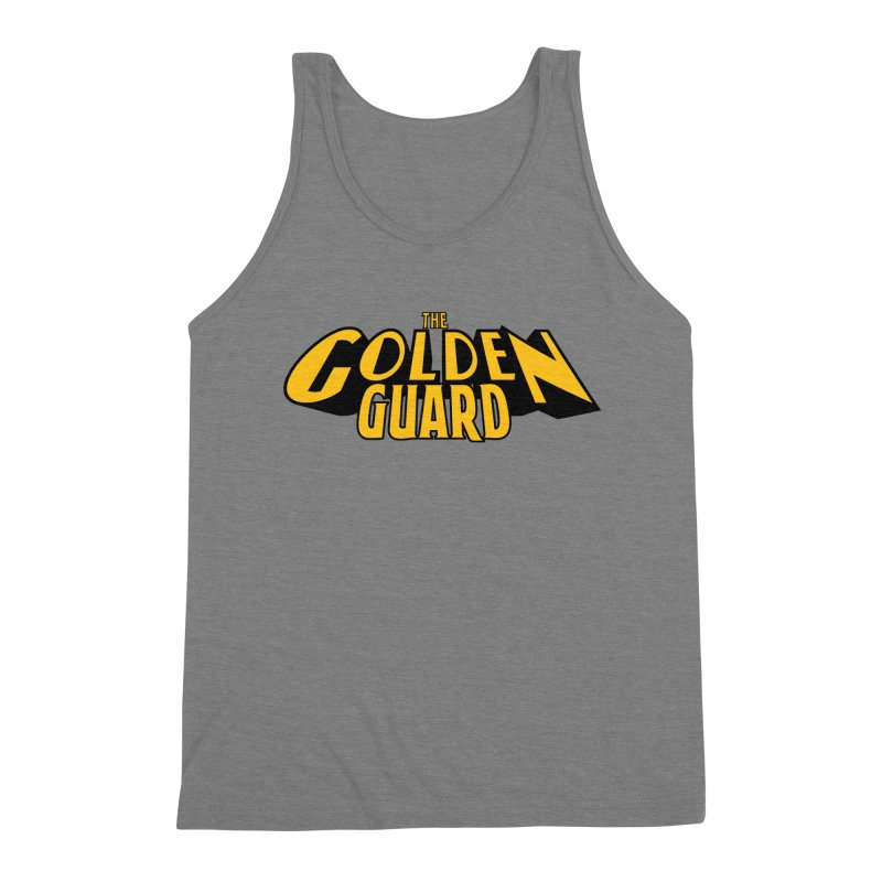 The Golden Guard - Logo Men's Triblend Tank by incogvito's Artist Shop