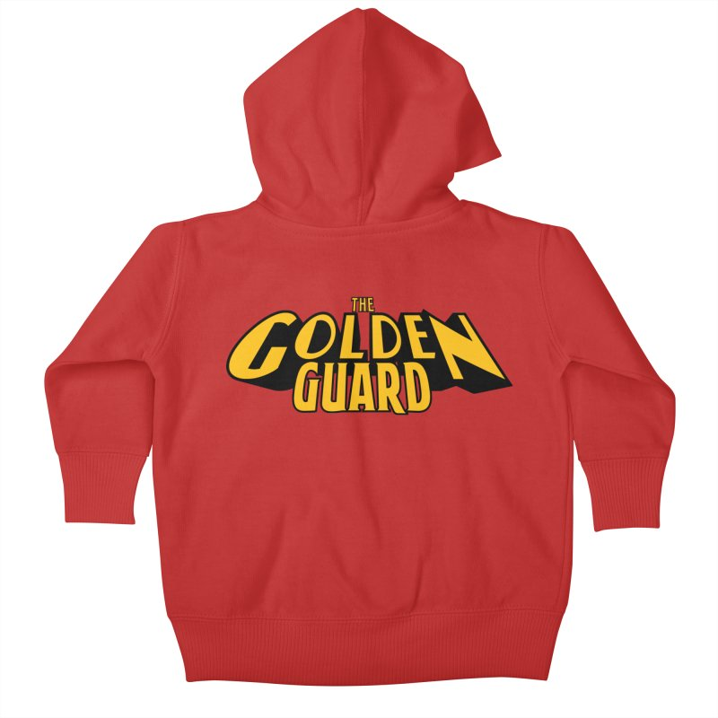 The Golden Guard - Logo Kids Baby Zip-Up Hoody by incogvito's Artist Shop