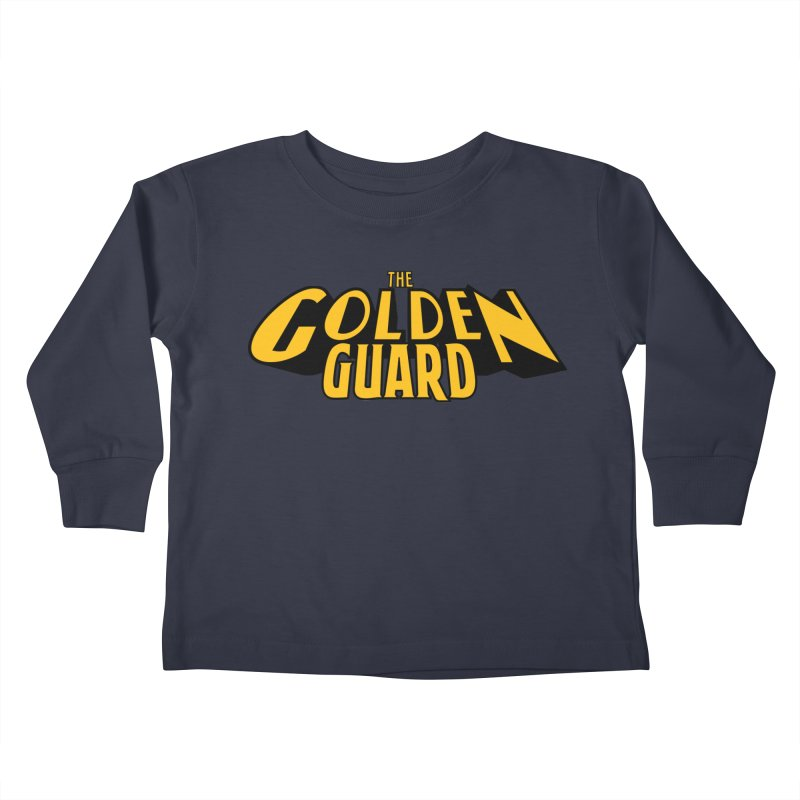 The Golden Guard - Logo Kids Toddler Longsleeve T-Shirt by incogvito's Artist Shop