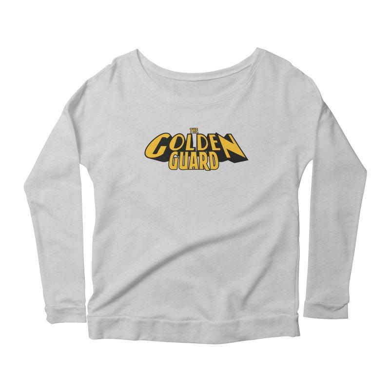 The Golden Guard - Logo Women's Scoop Neck Longsleeve T-Shirt by incogvito's Artist Shop