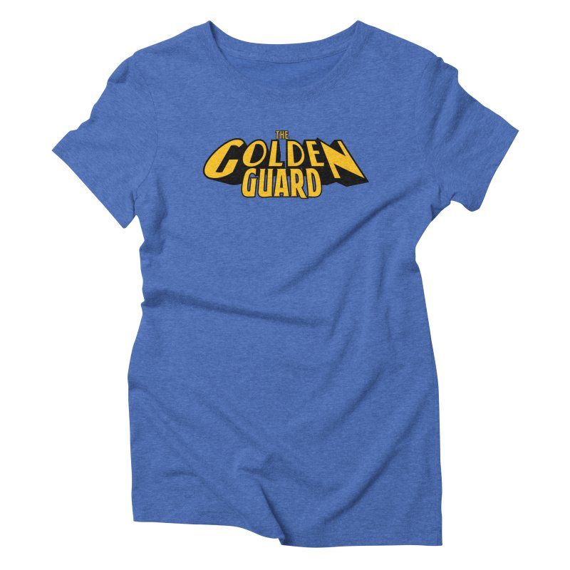 The Golden Guard - Logo Women's Triblend T-Shirt by incogvito's Artist Shop