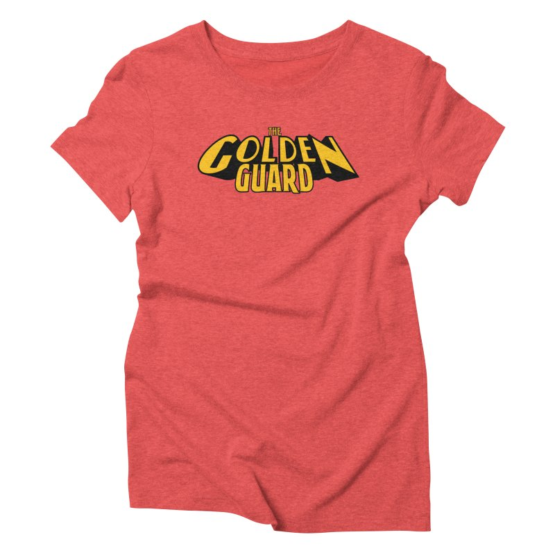 The Golden Guard - Logo Women's Triblend T-Shirt by incogvito's Artist Shop