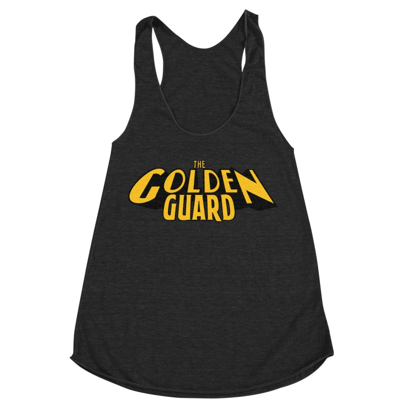 The Golden Guard - Logo Women's Racerback Triblend Tank by incogvito's Artist Shop