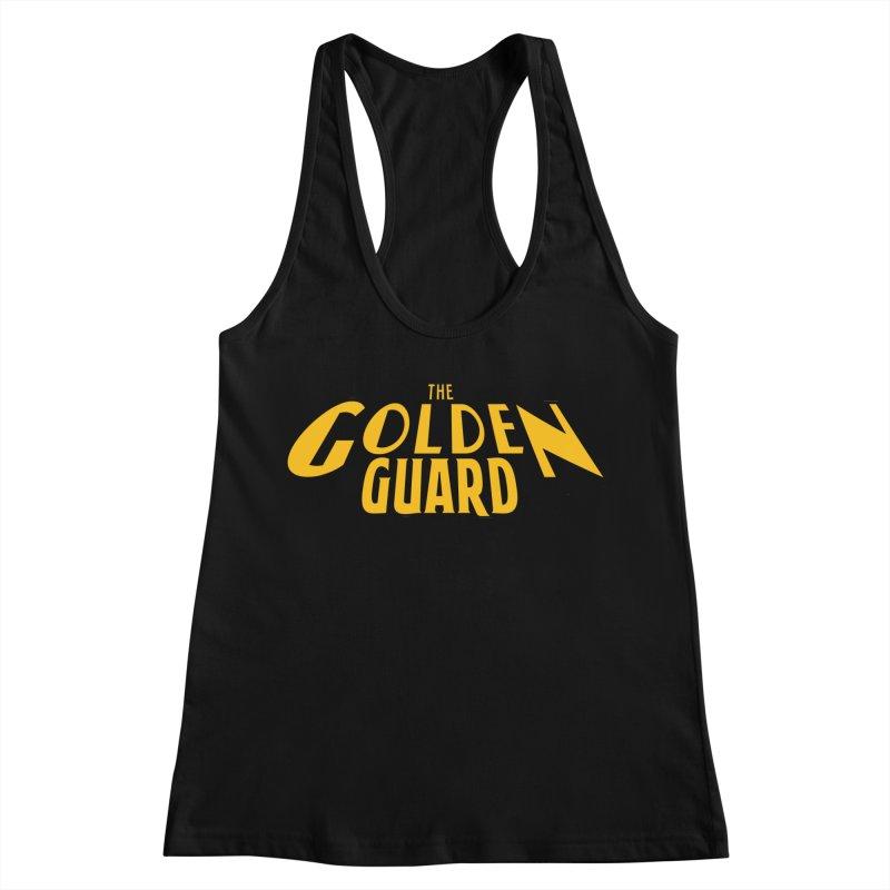 The Golden Guard - Logo Women's Racerback Tank by incogvito's Artist Shop