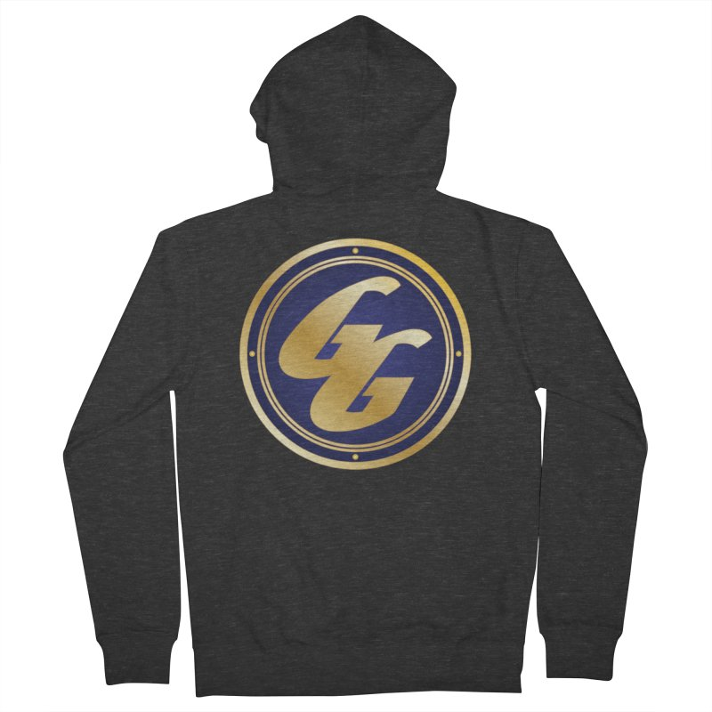 The Golden Guard - Bullet Women's French Terry Zip-Up Hoody by incogvito's Artist Shop