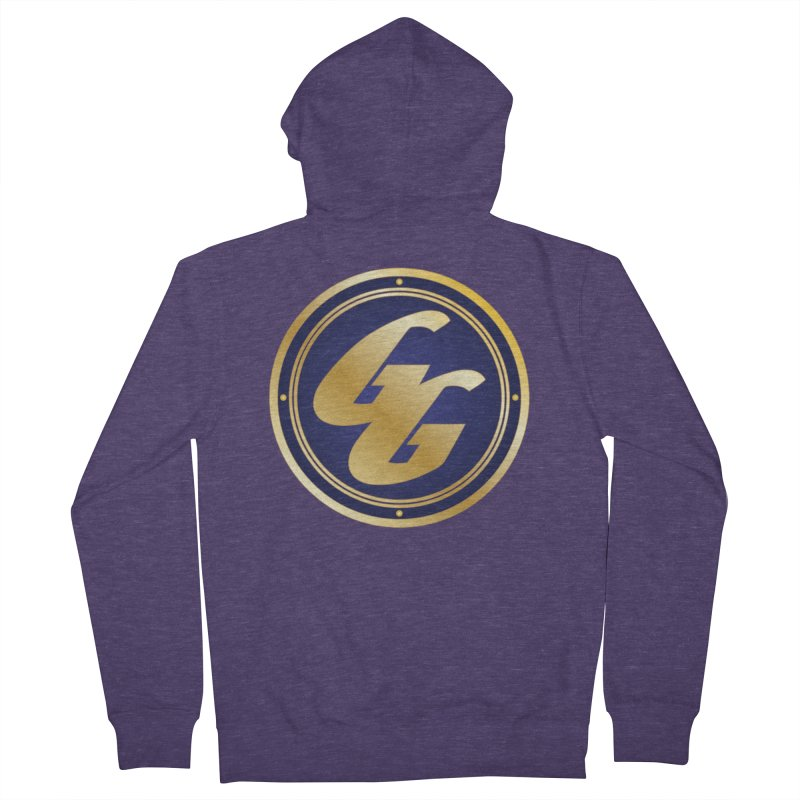 The Golden Guard - Bullet Men's French Terry Zip-Up Hoody by incogvito's Artist Shop