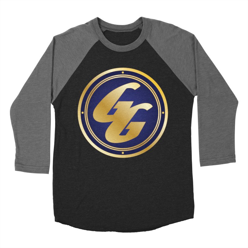 The Golden Guard - Bullet in Men's Baseball Triblend Longsleeve T-Shirt Grey Triblend Sleeves by incogvito's Artist Shop
