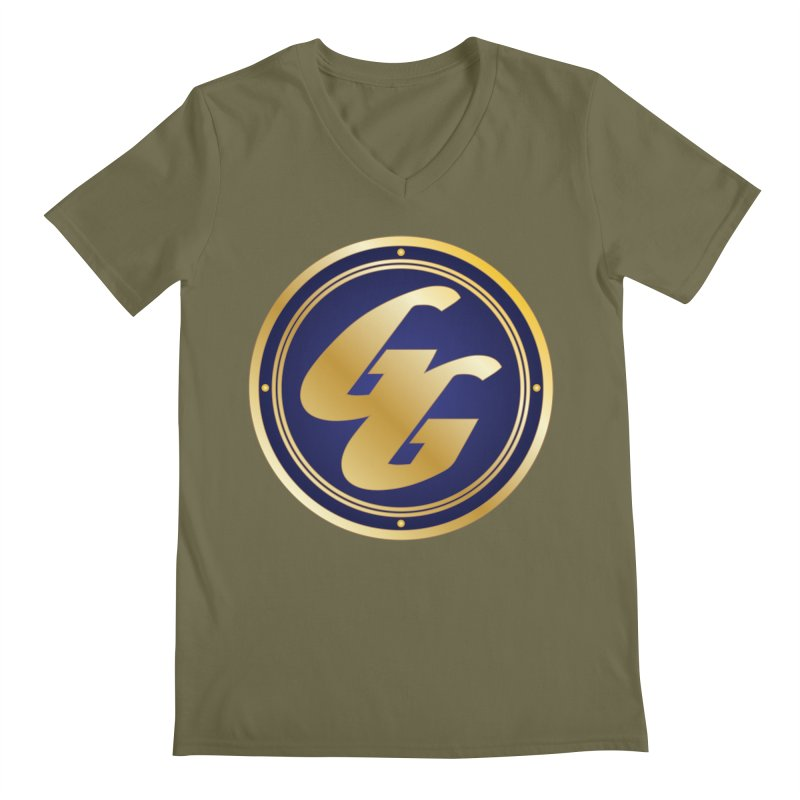 The Golden Guard - Bullet Men's Regular V-Neck by incogvito's Artist Shop