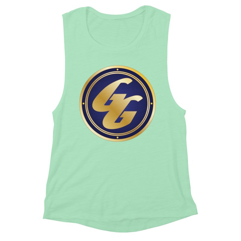 The Golden Guard - Bullet Women's Muscle Tank by incogvito's Artist Shop