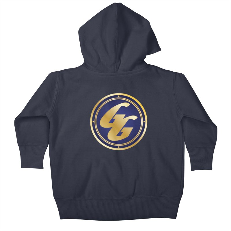 The Golden Guard - Bullet Kids Baby Zip-Up Hoody by incogvito's Artist Shop