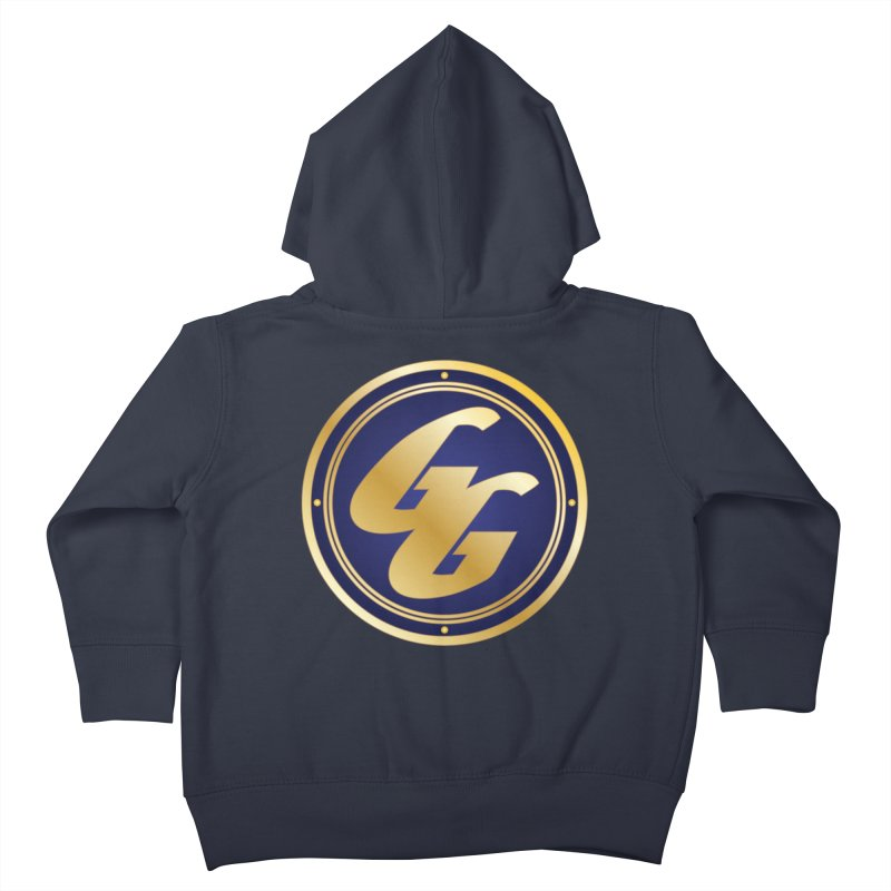 The Golden Guard - Bullet Kids Toddler Zip-Up Hoody by incogvito's Artist Shop
