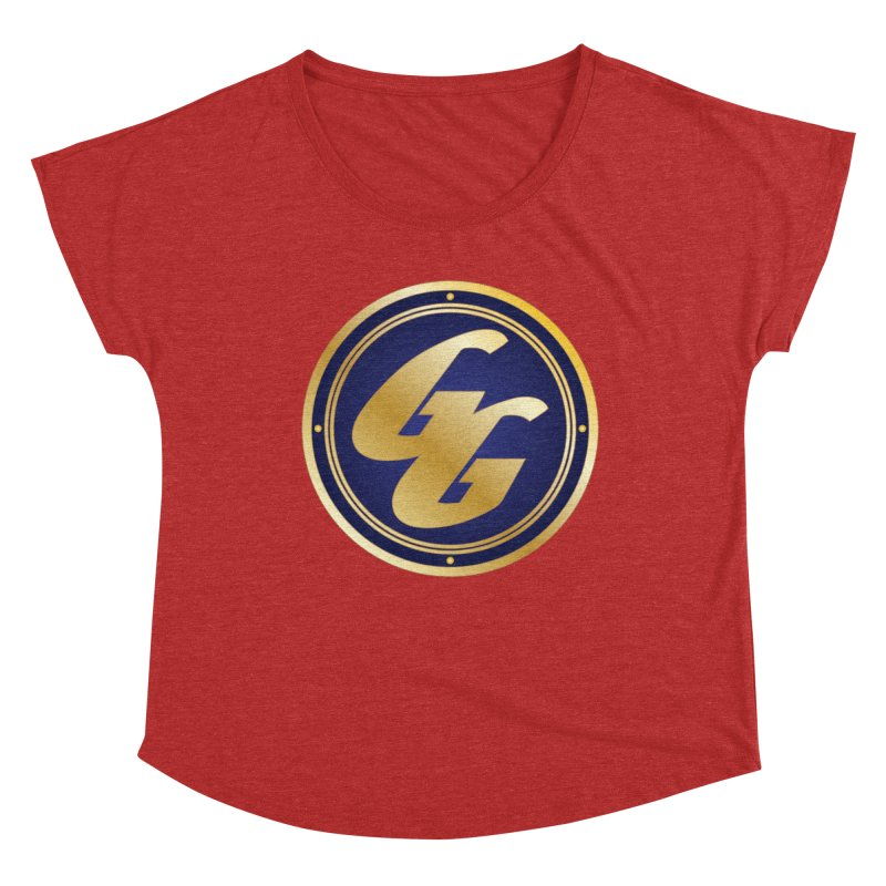 The Golden Guard - Bullet Women's Dolman Scoop Neck by incogvito's Artist Shop