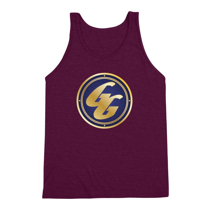 The Golden Guard - Bullet Men's Triblend Tank by incogvito's Artist Shop