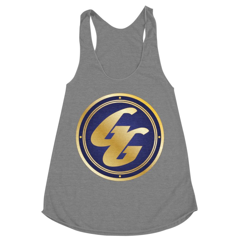 The Golden Guard - Bullet Women's Racerback Triblend Tank by incogvito's Artist Shop