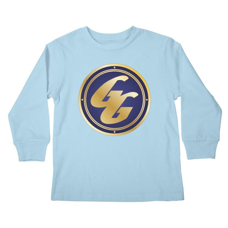The Golden Guard - Bullet Kids Longsleeve T-Shirt by incogvito's Artist Shop