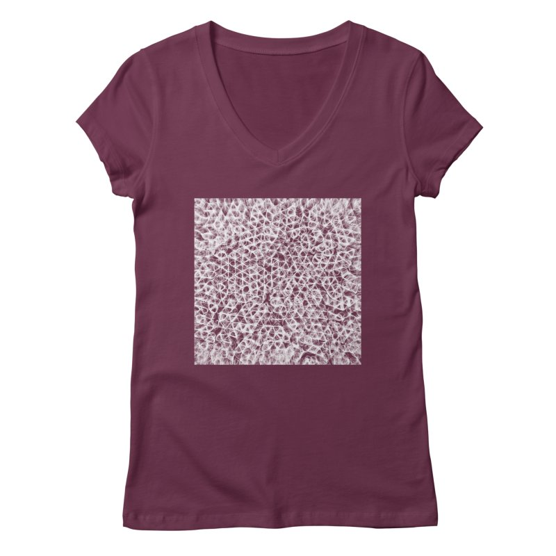cell c85eec3 Women's V-Neck by inconvergent