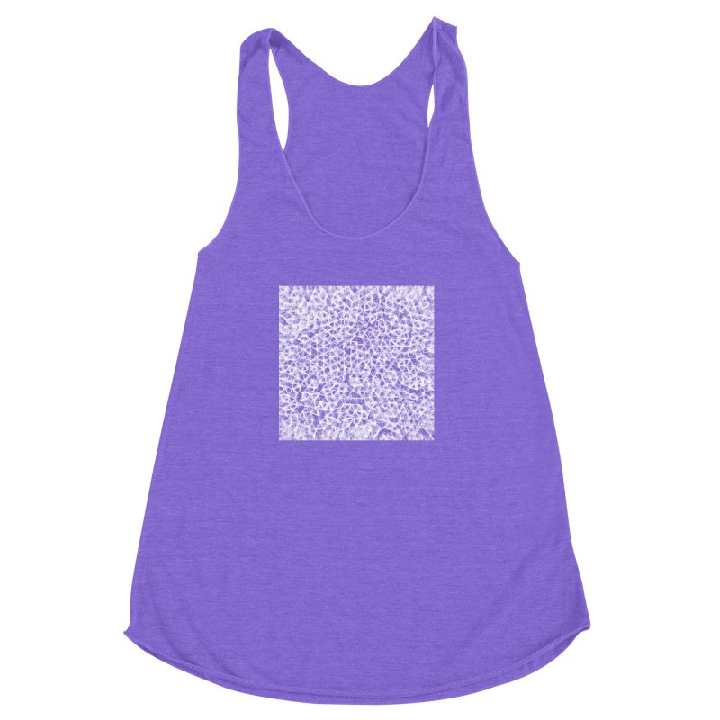 cell c85eec3 Women's Racerback Triblend Tank by inconvergent