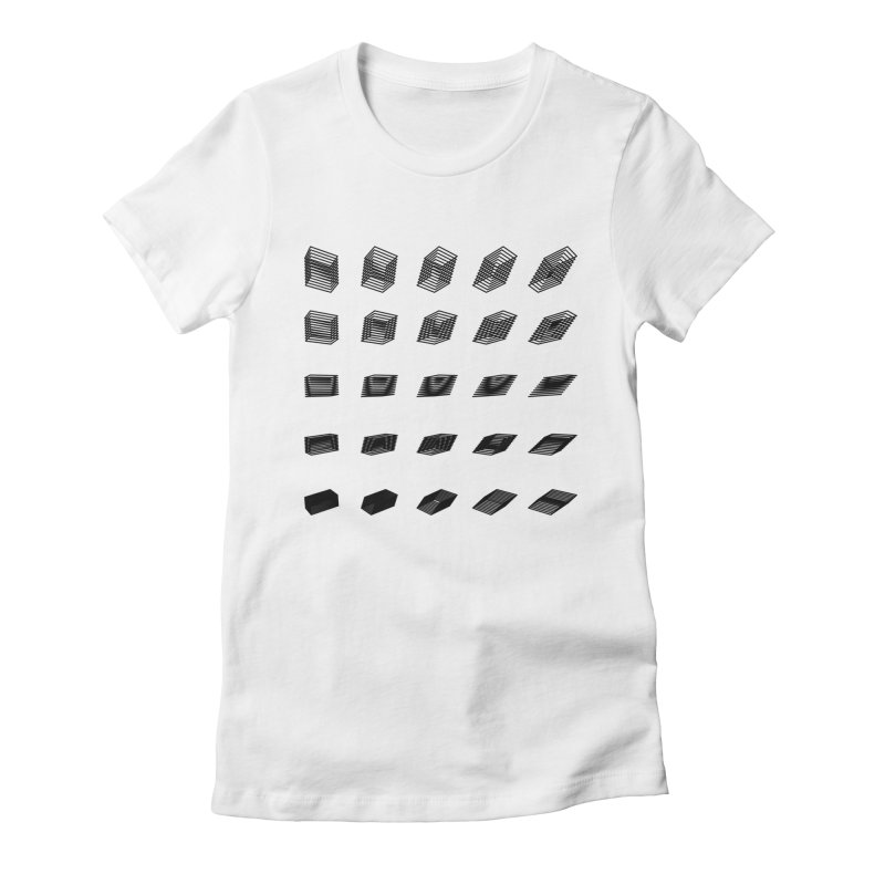 perspective b9dde1a Women's Fitted T-Shirt by inconvergent