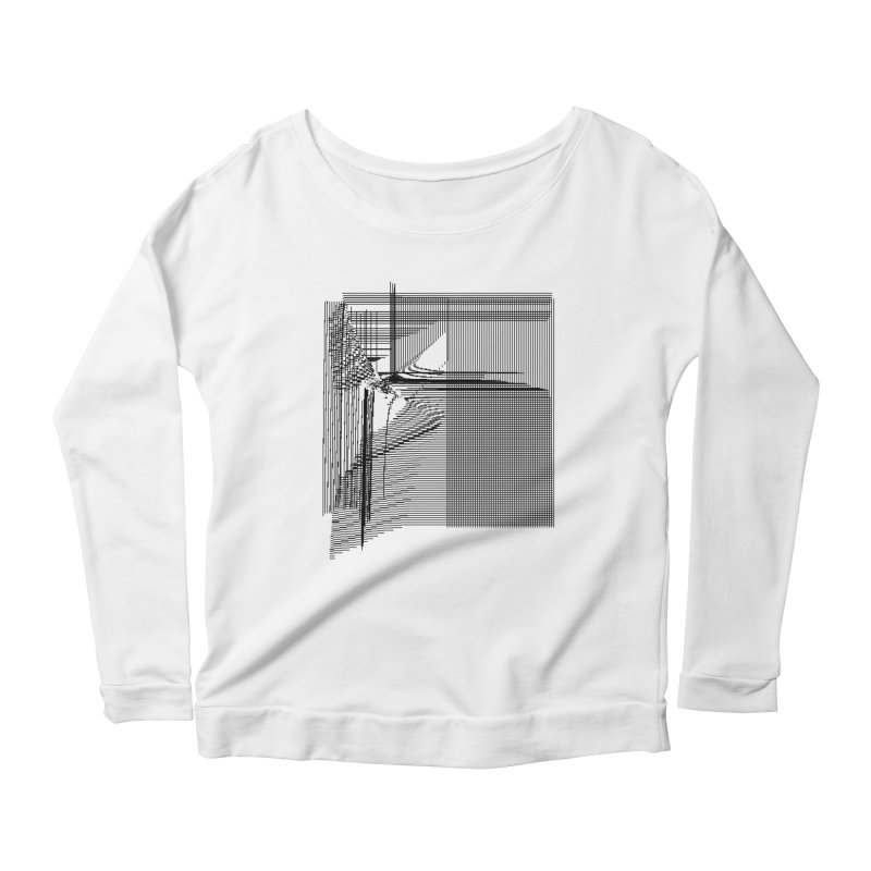 parallel 9d34e84 Women's Scoop Neck Longsleeve T-Shirt by inconvergent