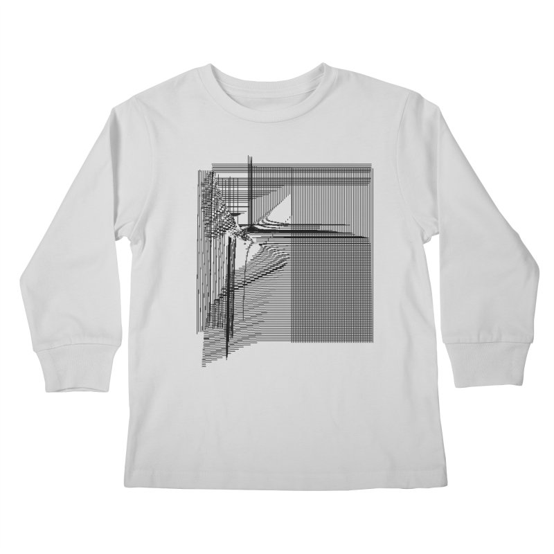 parallel 9d34e84 Kids Longsleeve T-Shirt by inconvergent