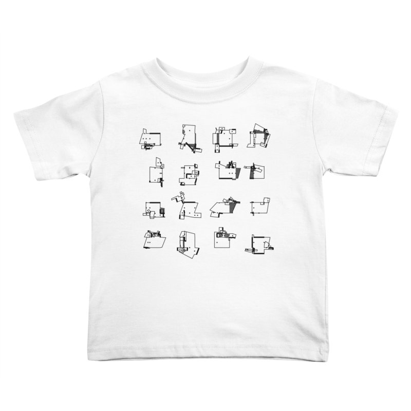 box extrude 3839fc5 Kids Toddler T-Shirt by inconvergent