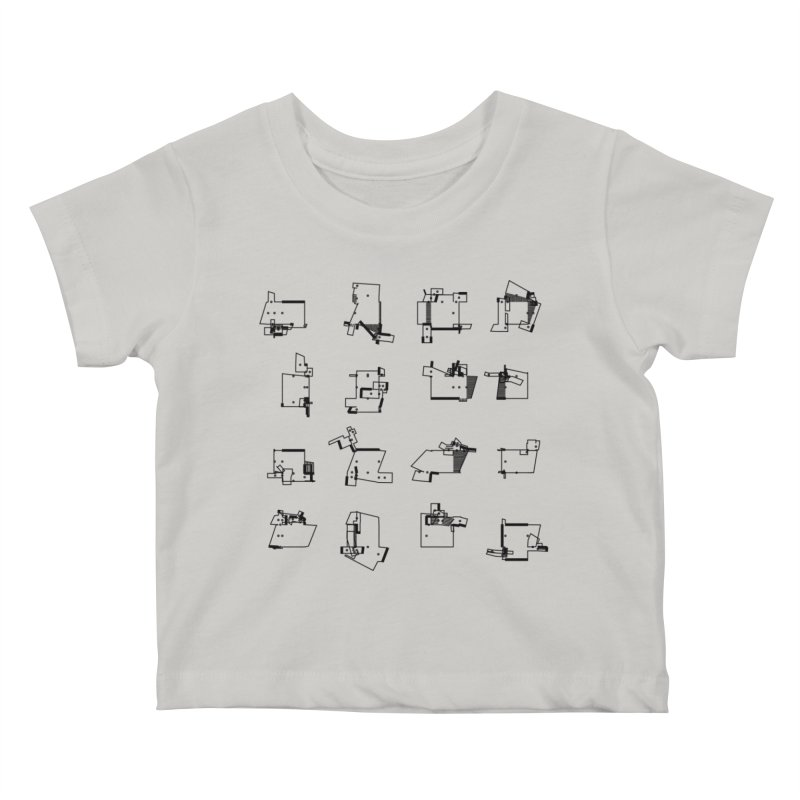 box extrude 3839fc5 Kids Baby T-Shirt by inconvergent