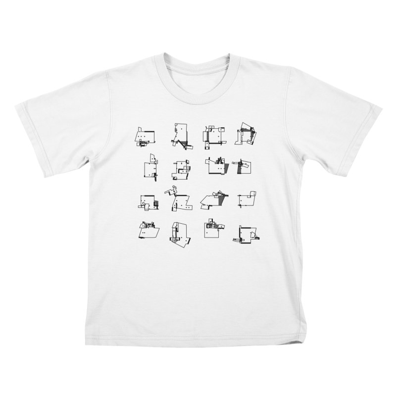 box extrude 3839fc5 Kids T-Shirt by inconvergent