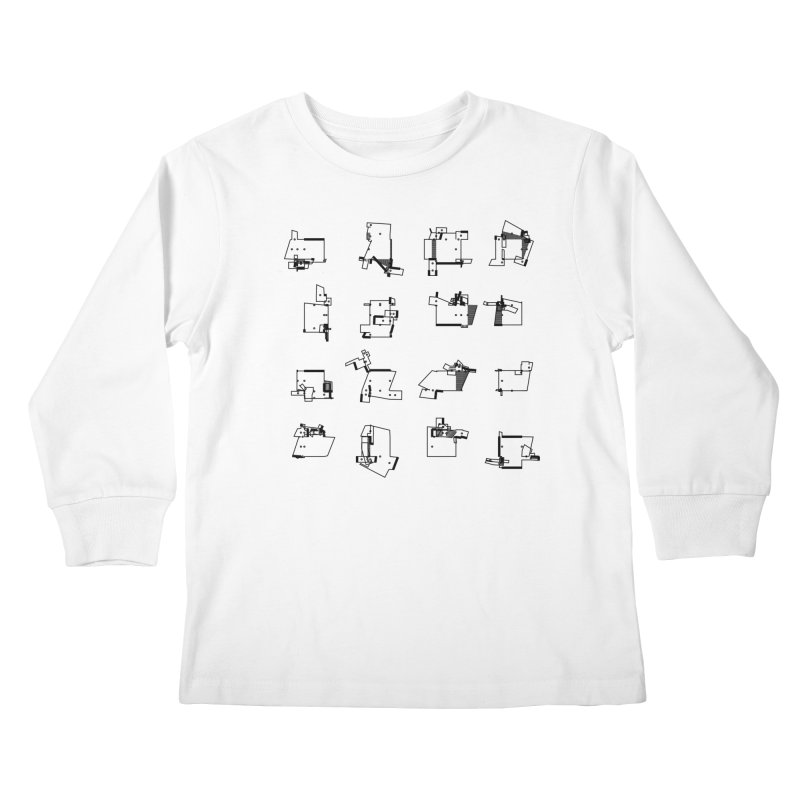 box extrude 3839fc5 Kids Longsleeve T-Shirt by inconvergent