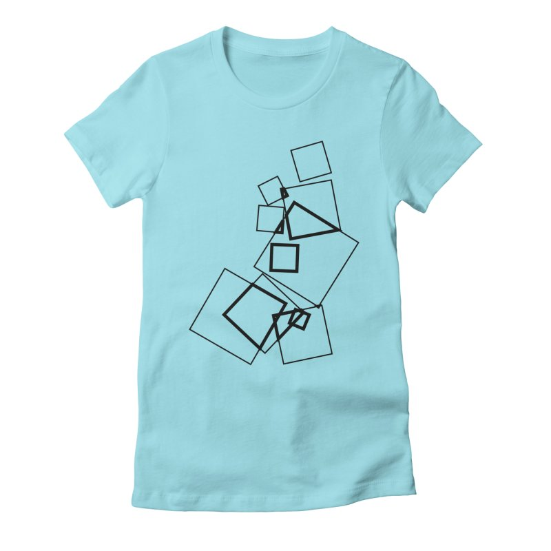 intersect 5e4fcf2 Women's Fitted T-Shirt by inconvergent