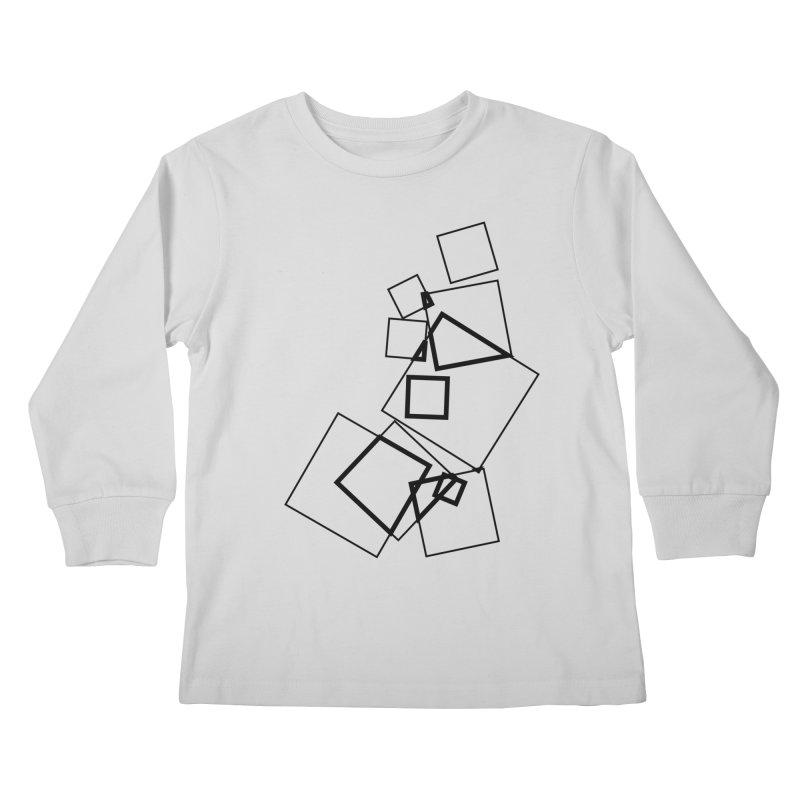 intersect 5e4fcf2 Kids Longsleeve T-Shirt by inconvergent