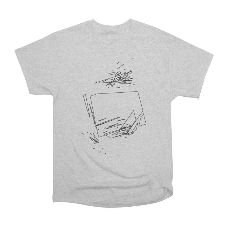 split a797183 Men's Classic T-Shirt by inconvergent