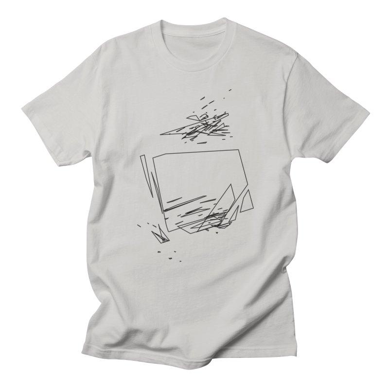 split a797183 Men's T-Shirt by inconvergent