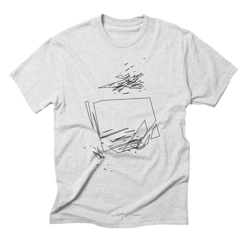 split a797183 Men's Triblend T-Shirt by inconvergent