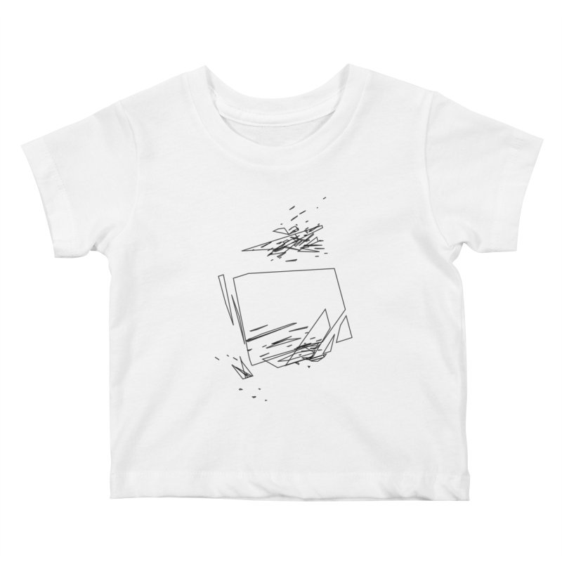 split a797183 Kids Baby T-Shirt by inconvergent