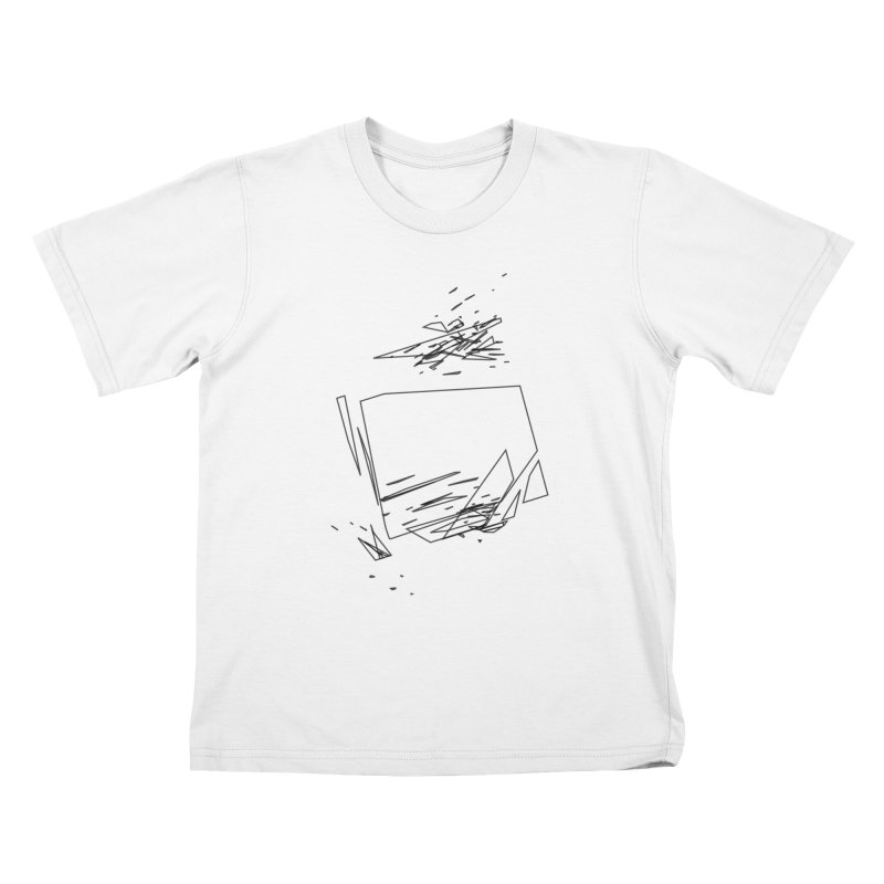 split a797183 Kids T-Shirt by inconvergent