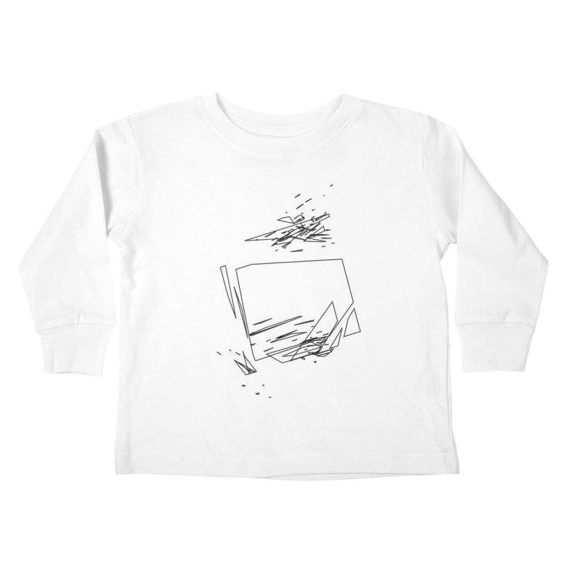 split a797183 Kids Toddler Longsleeve T-Shirt by inconvergent