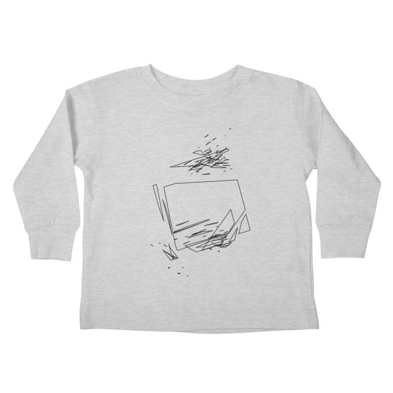 split a797183 Kids Toddler Longsleeve T-Shirt by inconvergent