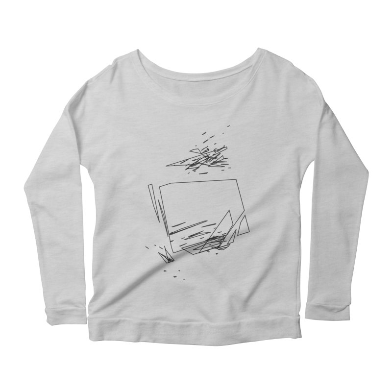split a797183 Women's Scoop Neck Longsleeve T-Shirt by inconvergent