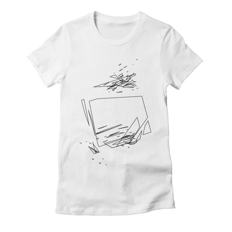 split a797183 Women's Fitted T-Shirt by inconvergent