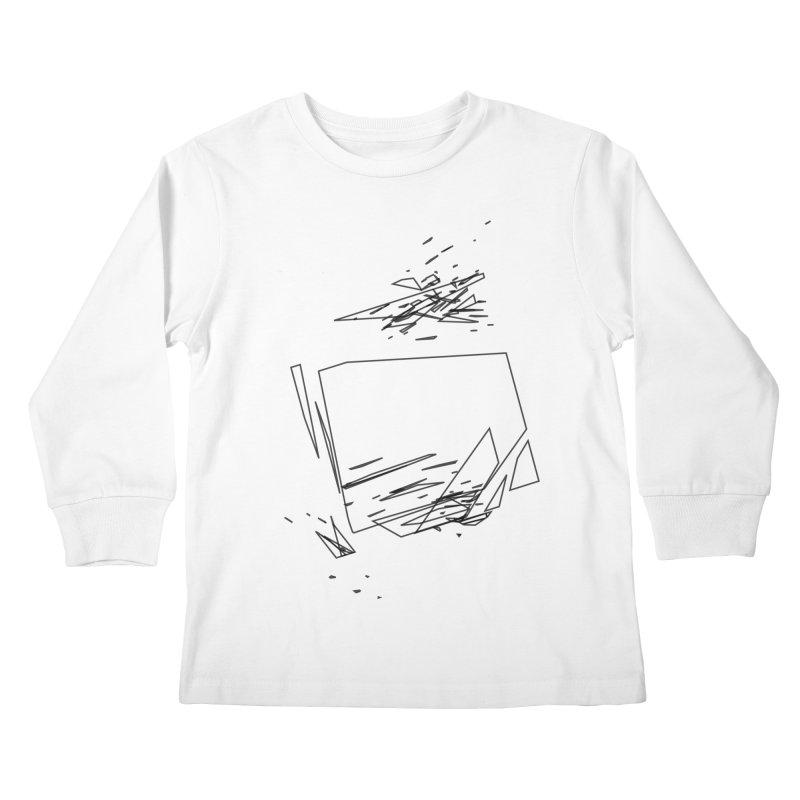 split a797183 Kids Longsleeve T-Shirt by inconvergent
