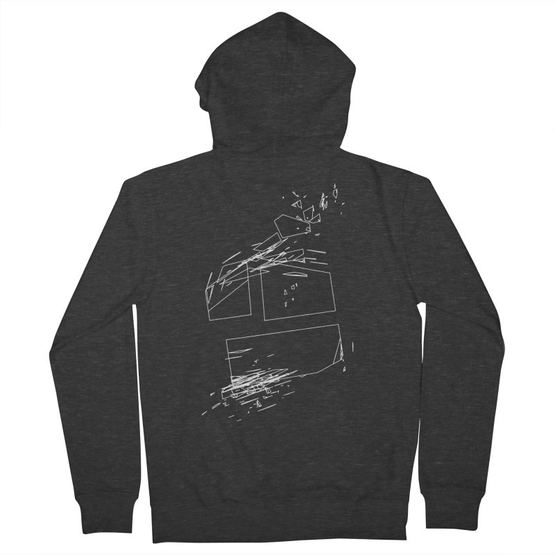 split 3a6e1f7 Men's French Terry Zip-Up Hoody by inconvergent