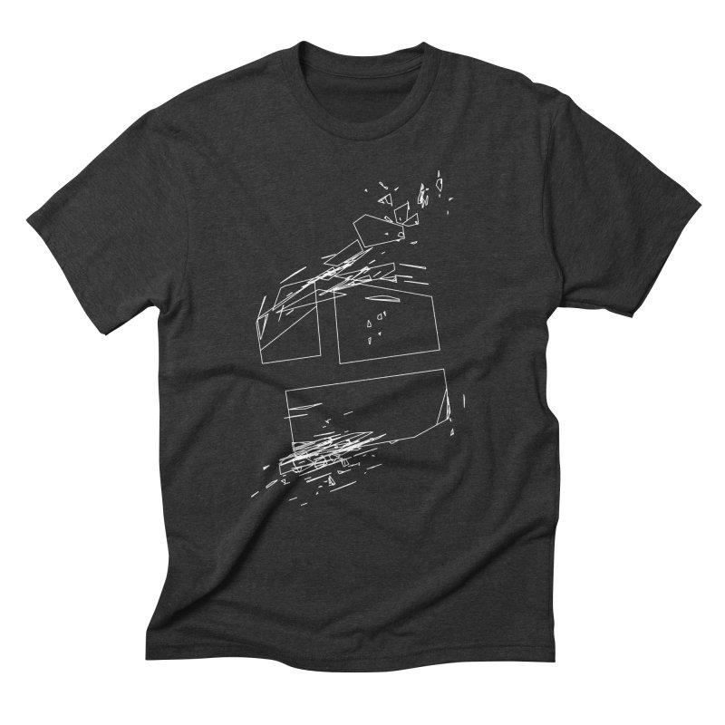 split 3a6e1f7 Men's Triblend T-Shirt by inconvergent