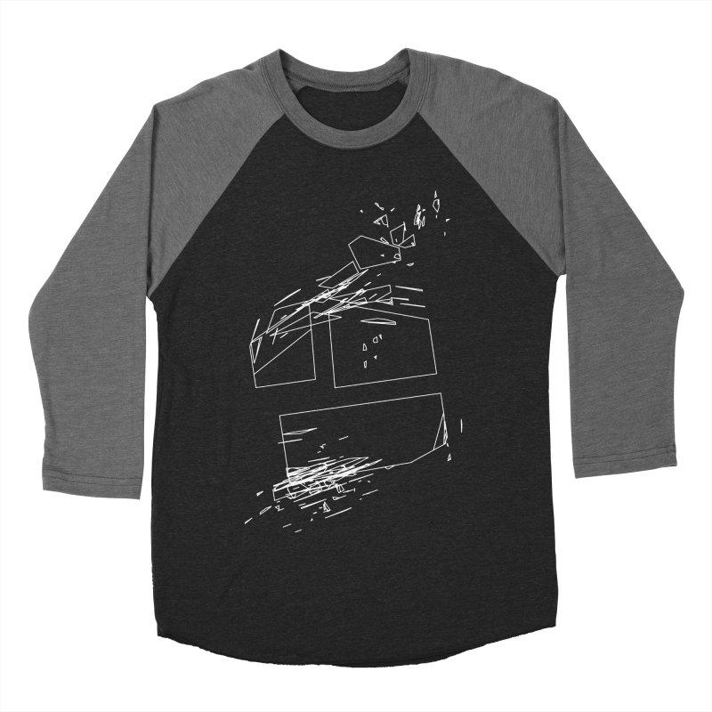 split 3a6e1f7 Men's Baseball Triblend Longsleeve T-Shirt by inconvergent