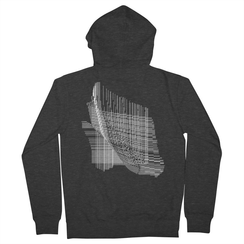 parallel facf40d Men's French Terry Zip-Up Hoody by inconvergent